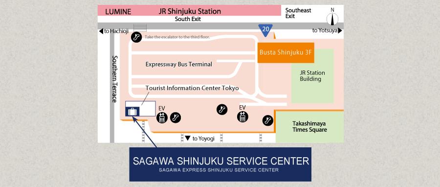7fd9873d8e SHINJUKU SERVICE CENTER Sightseeing Without Baggage Sagawa Express ...